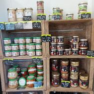 produits de producteurs locaux présents aux saveurs de gatine