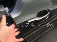 BMW電気自動車i3インロック閉じ込めドアキー開錠