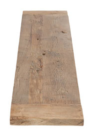 Tischplatte Altholz Eiche für Stehtisch nach Maß