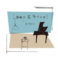 HARCO Lamp&Stool