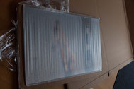 Verpackung der Lieferung von Saal-Digital Wandbild