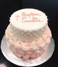 Gâteaux mariage, baptême, communion,...