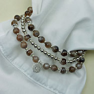 Damenarmband-Sets aus Edelsteinen und Edelmetallen