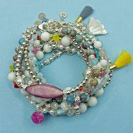 Armbänder, Damenarmbänder, Damen Armbänder, Edelsteine, Silber, Silber vergoldet, handgefertigt, Designerschmuck