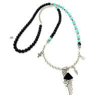 Halsketten, Damenhalsketten, Exklusiv, Onyx, >m<zonit, Designerschmuck