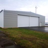 Construction de hangar des moyens généraux - Aéroport Le Havre Octeville (76)
