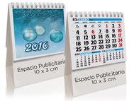 Calendario publicitario sobremesa 13 hojas