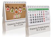 Calendario publicitario sobremesa 7 hojas