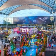 Flughafen München, Veranstaltungen, Mitarbeiterfest, Betriebsfeier, Sommerfest, Mitarbeiter, Event, Munich Airport, Corporate,