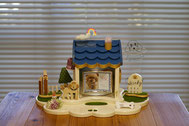 ペット仏壇、かわいいペット仏壇、天使のおうち