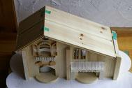 屋根の奥行はこれになります。長さはこのお家に合わせて制作します。