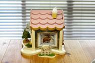 モチーフ制作の関係で、この写真をお家に仮りセットしました