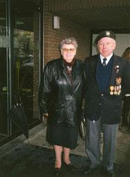 Tessenderlo 11-11-1996       Bertha Aerts en echtgenoot Fons Beets