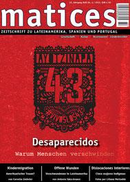 Matices 84: Desaparecidos - Warum Menschen verschwinden