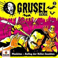 CD Cover Gruselserie - Folge 3 - Moskitos - Anflug der Killer-Insekten