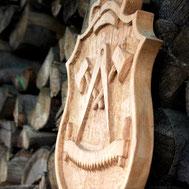 Zimmermanns-Wappen