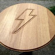 Tischplatte ACDC