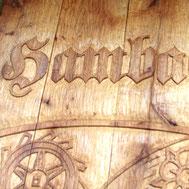 Ortsschild Hambach
