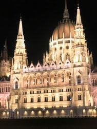 Budapest - das Parlament