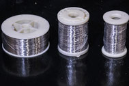 roulette zig-zag burette à cire bobine fil inox