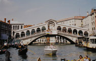 Le pont Rialto du nom de la première île de Venise
