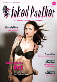 sandyppeng Tattoomodel Sandy P. Peng Cover | Titelseite Inked Panther