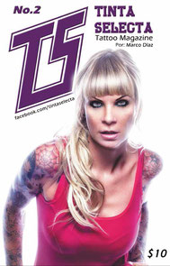 sandyppeng Tattoomodel Sandy P.Peng Cover Tina Selecta Mexico | Titelseite