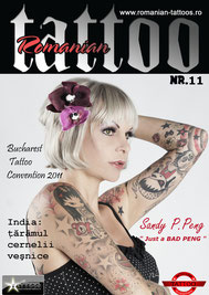sandyppeng Tattoomodel Sandy P.Peng Cover | Tattoomagazine Romania