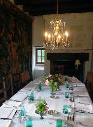 Table d'hôtes à la Corroierie - Montrésor