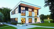 Weber Jubiläums-Haus mit Wolf Bodensystem