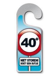 Metalen deurhanger  € 3,95