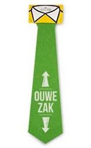 Feestelijke stropdas Ouwe zak € 3,95