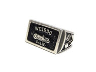 WEIRDO PALQUE RING 925
