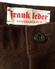 Frank Leder Deutsches Design Deutsche Mode Haus Glanz Herrenmode Made in Germany