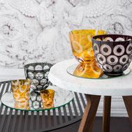 Manufaktur Deutschland Glas Tischdeko Luxus Design MadeinGermany HausGlanz