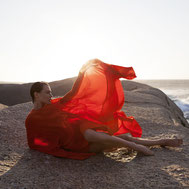 Slowfashion Beachwear Nachhaltig Carolin Sangha Resort Fashion Kaftan Womenswear Made in Germany