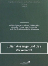 Schiffbauer - Julian Assange und das Völkerrecht