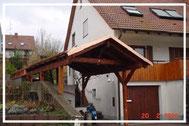 Außenbereich: Terrassenbau, Carports und komplette Gartenhäuser.