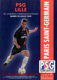 Programme  PSG-Lille  2001-02