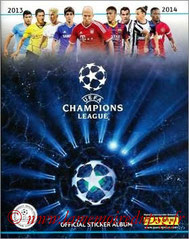 2014-15 - Panini Champions League - Couverture