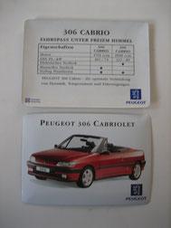 306 Cabrio aus Blech Foto 103