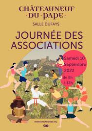 danse. Arts et Culture. Chateauneuf du Pape. Journée des associations 2017