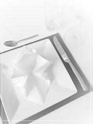 Tischdekoration: Platzset