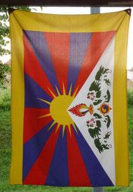 Tibetfahne (© Foto: Renate Fachinger)
