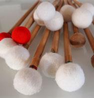 Drumsticks für den Drummer von Olles Leiwand, Austropop aus Bayern und Salzburg