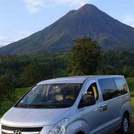 Viajando desde La Fortuna Volcán Arenal a Tortuguero