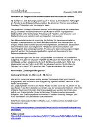 Grabung Chemnitz Außerschulischer Lernort