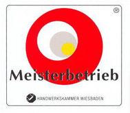 Logo Meisterbetrieb Handwerkskammer Wiesbaden