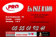 Partenaire de la JA isle Handball : Isle Radio