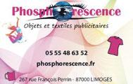 Phosphorescence (pour des objets qui diffusent durablement votre image)
